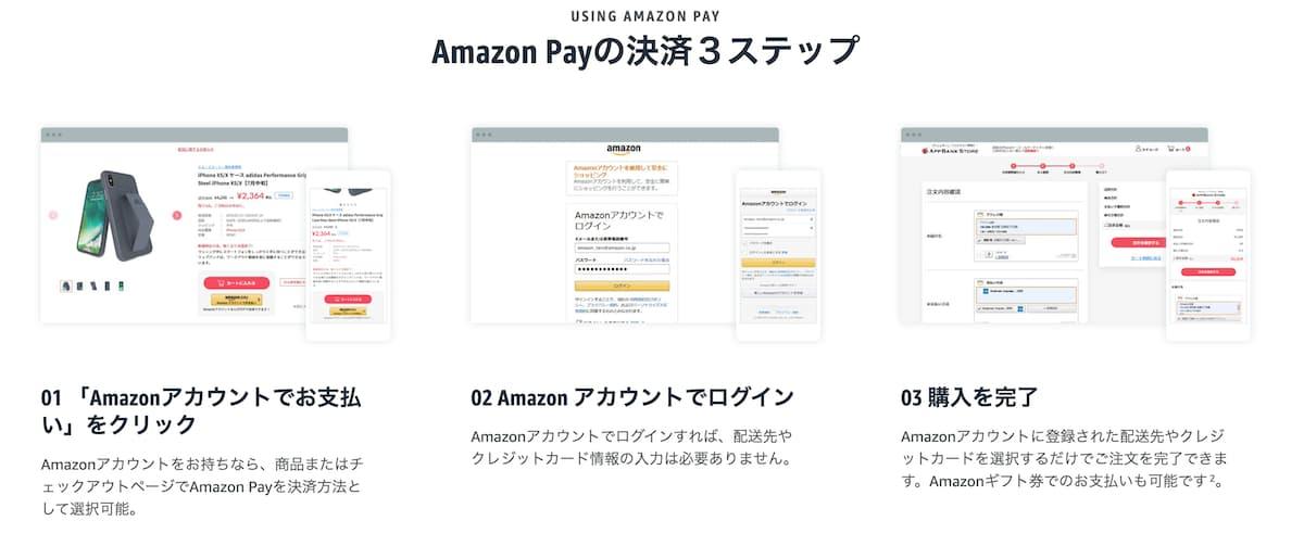 Amazon Payを利用する【Amazon以外のお店で利用する】
