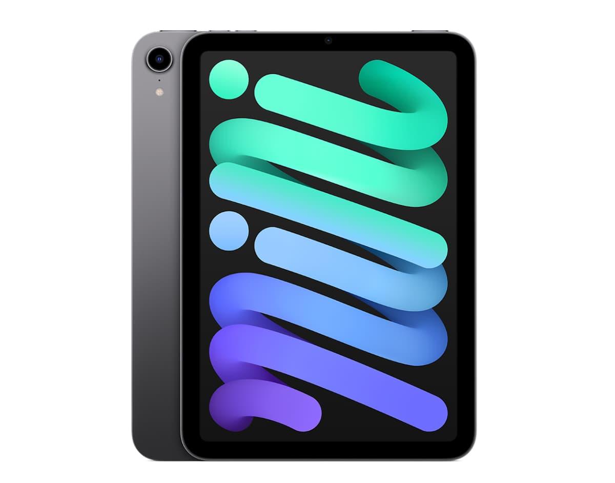 iPad mini 6のスペースグレイが高級感があり、似た色のデバイスが少ない