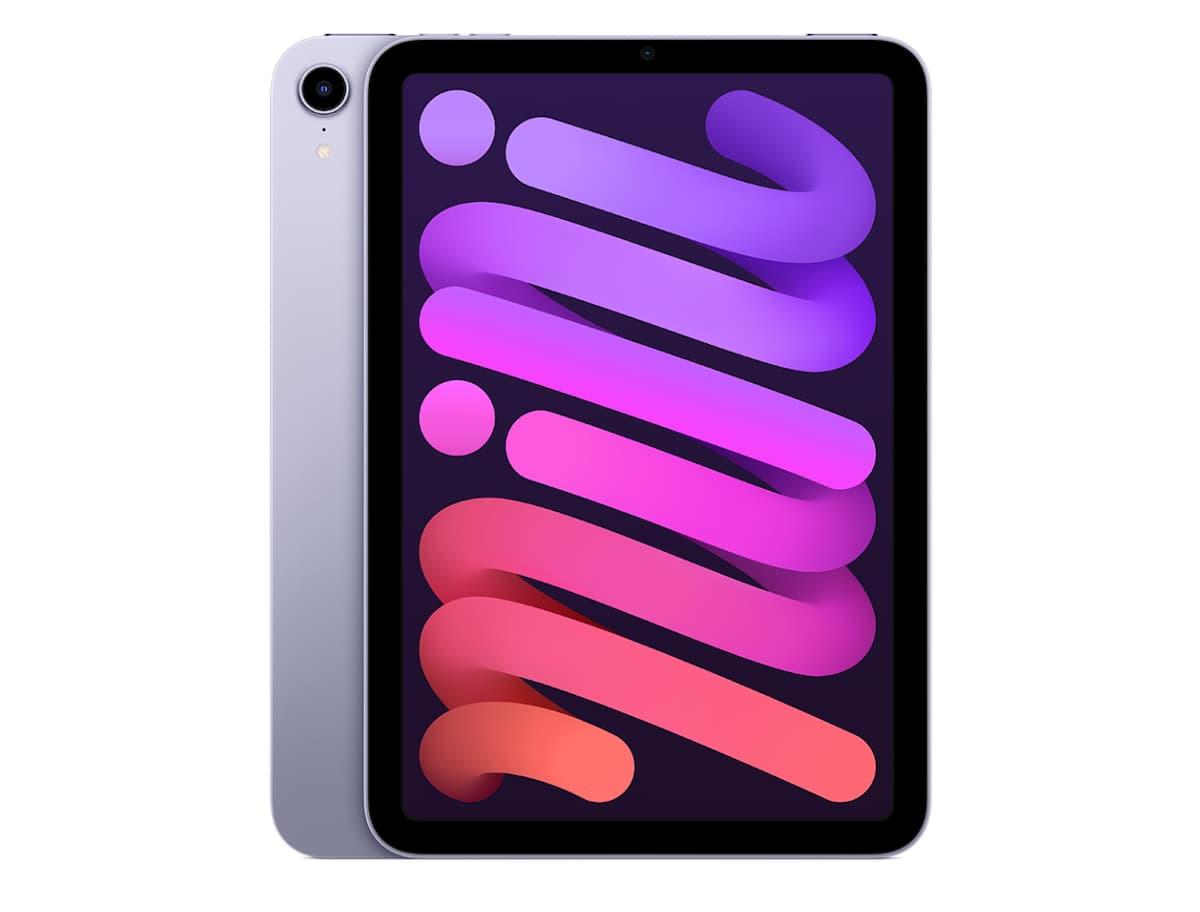 iPad mini 6のパープルはスペースグレイより華やかな色合い