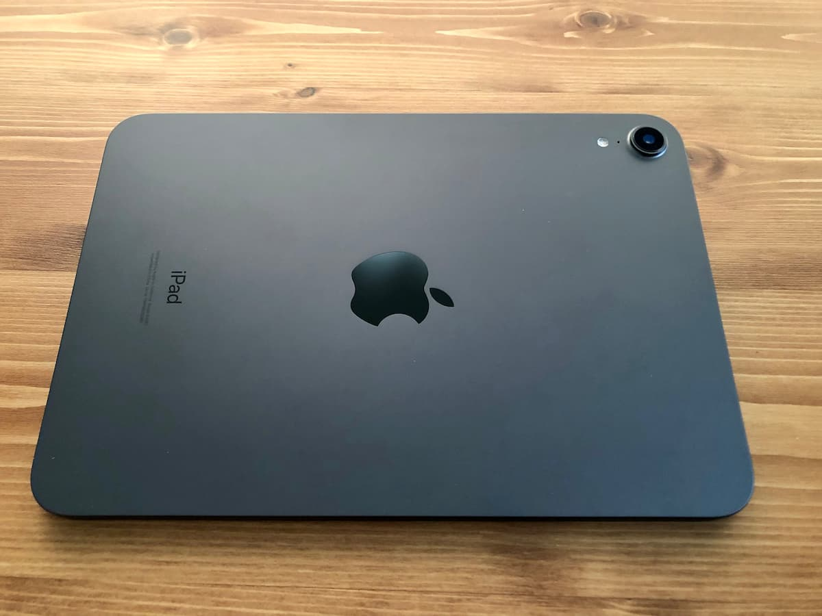 iPad mini 6の背面イメージ