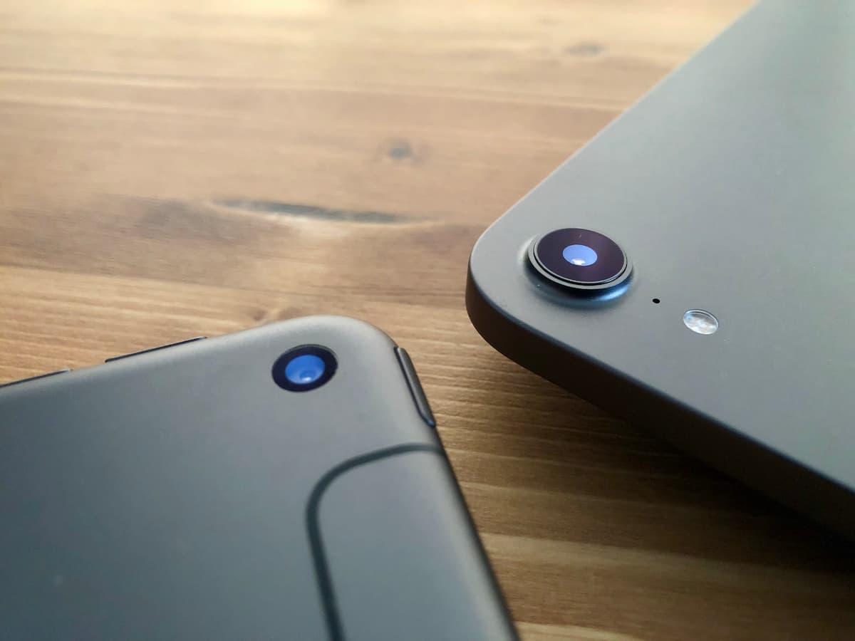 新型iPad mini 6はカメラの出っ張りがある