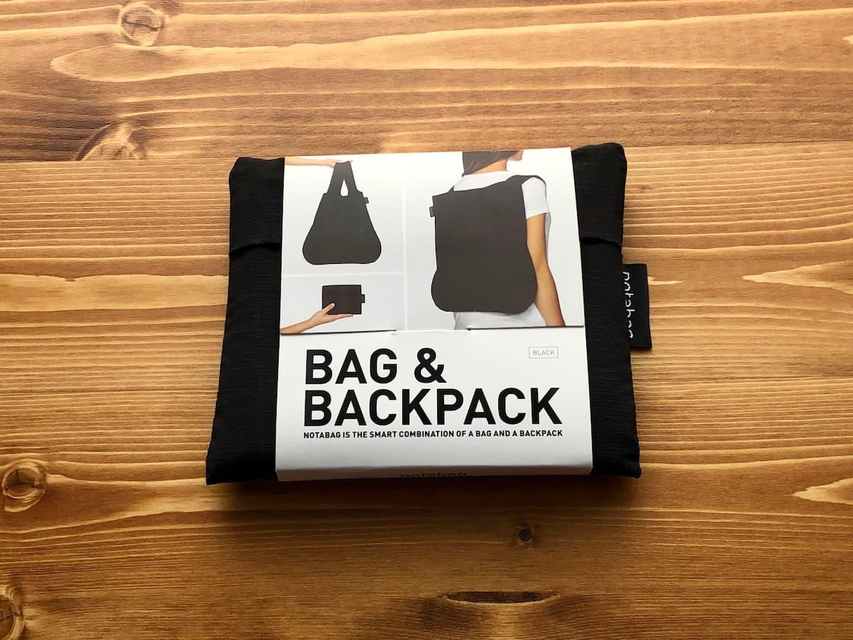【notabag(ノットアバッグ)】2WAYエコバッグを評価【サイクリストが持つべきバッグ】