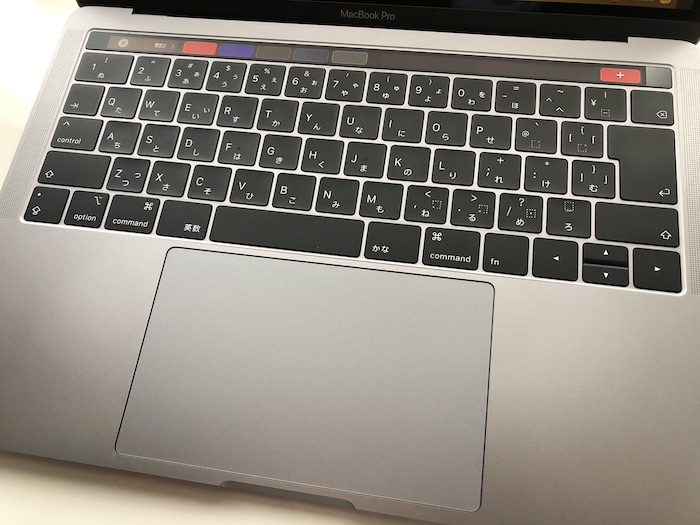 『13インチMacBook Pro(2018)』はトラックパッドが素晴らしい