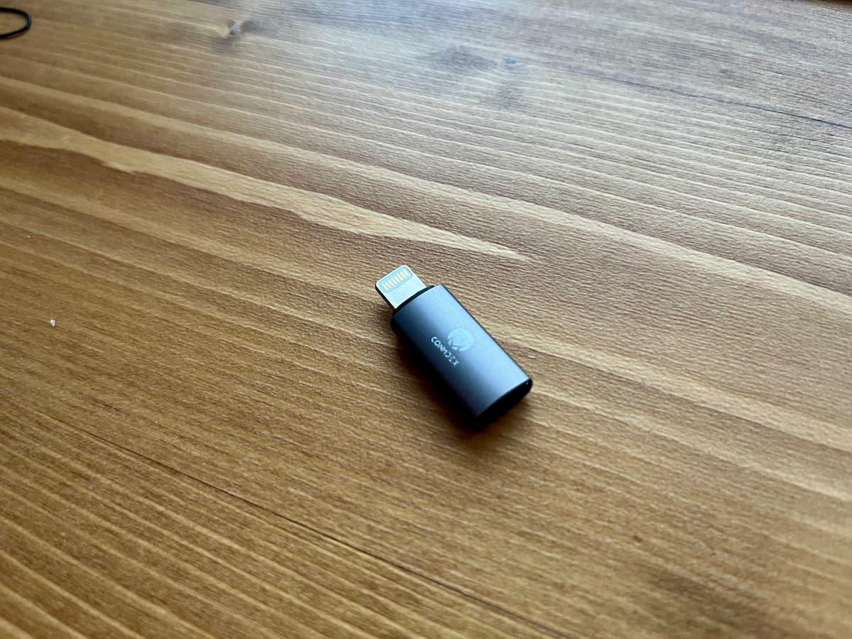 Stouchi USB type C 変換アダプタの付属品